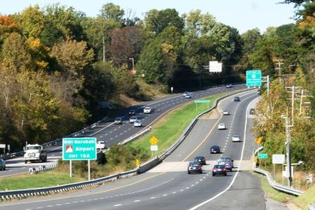 a major Transportation Highway in Maryland near Washington DC